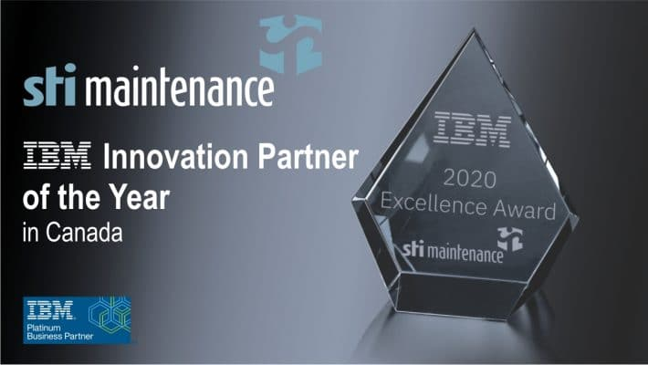 Prix excellence innovation IBM 2020 (AN)