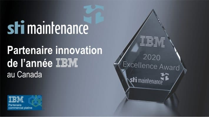 Prix excellence innovation IBM 2020 (FR)